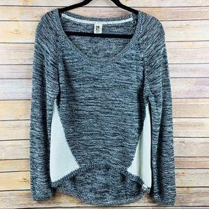 Foxy Long Sleeve Scoop Neck Sweater